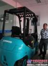 山河智能多款新型叉车亮相上海4S店