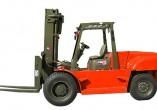 大连叉车CPCD80平衡重式内燃叉车石材市场专用车