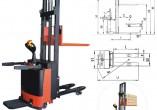 诺力CLD1032(FFL)全电动堆高车