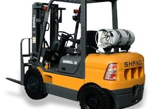 上力重工2-3吨液化石油气平衡重式叉车