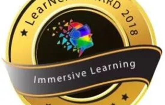 永恒力虚拟现实培训获得沉浸式学习奖