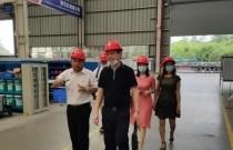 东莞客人考察山河智能高空作业设备